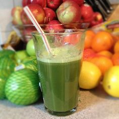 Donna in North Texas made green juice for dinner with her Greenling delivery!