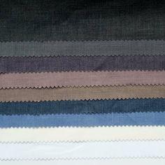De kleuren polykatoen, een heerlijke stof. Makkelijk in onderhoud.