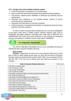 K-12 Module in TLE - ICT Grade 9 [All Gradings] Information And Communications Technology, Computer Hardware, Report Template, Sample Resume, Templates, Teaching, Education, Pdf, School