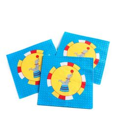 Look at this #zulilyfind! Big Top Napkin - Set of 40 by Party Partners #zulilyfinds