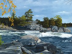 John Harrington is a Canadian artist who has been painting for more than fify years. Canadian Artists, Canada, River, Fall, Artwork, Painting, Autumn, Work Of Art, Auguste Rodin Artwork