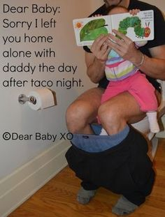 Mom Turns Apology Notes to Her Baby Into a Viral Sensation (PHOTOS)   LOL!