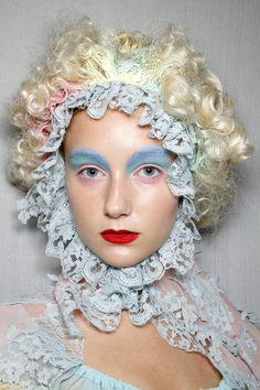 Pastels. #makeup meadham kirchhoff spring 2012