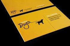 I Prefer Dogs Business Card