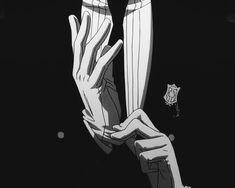 Sebastian Michaelis GIF :: Tug that glove!