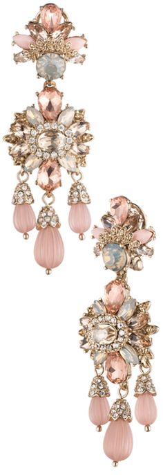 Marchesa Drama Chandelier Earrings