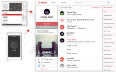 Mixlr is a simple way to share live audio online. Broadcast using any source and invite others to listen and chat in real-time.