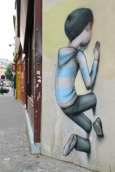 New Works by Seth / Paris Street Art 3d Street Art, Murals Street Art, Art Mural 3d, Graffiti Artwork, Amazing Street Art, 3d Wall Art, Street Art Graffiti, Street Artists, Pintura Graffiti