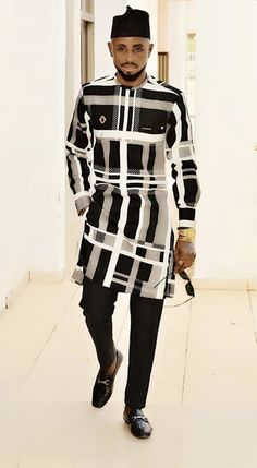 African Dresses Men, African Attire For Men, African Shirts, African Wear, Gents Fashion, Boy Fashion, Trendy Fashion, Nigerian Men Fashion, African Men Fashion