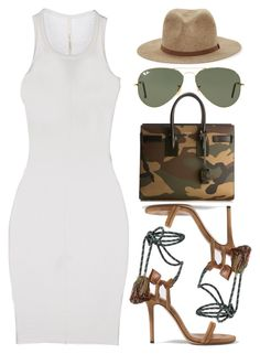 Distraction by kimeechanga on Polyvore featuring polyvore fashion style ISABEL BENENATO Isabel Marant Yves Saint Laurent Ray-Ban clothing YSL RayBans saintlaurent isabelmarant yvessaintlaurent