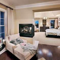 Toll Brothers shares how to turn your master bedroom into a luxurious retreat on the Toll Talks blog | Stratford - Greenville Overlook, DE