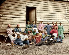 "Colorized version of ""Contrabands: 1862"""