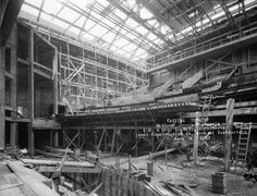 Capitol Theatre Construction | Photograph | Wisconsin Historical Society