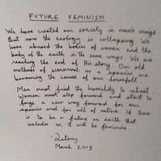 handwritten   by Antony of Antony and the Johnsons // #feminism