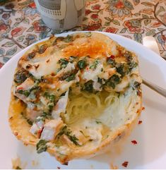 Fall weather has me craving all of the creamy, cheesy and rich things. Stand and deliver all of the cassolettes, the gratins, the alfredos and the risottos and you may walk away alive…or full… Peameal Bacon, Stand And Deliver, Fall Weather, Spaghetti Squash, Pretty Good, Risotto, Spinach, Harvest, Cravings