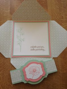 Oakfield Crafts: Favourite style of card at the moment
