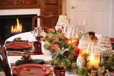 http://mosslounge.com/how-to-decorate-for-christmas/ How to Decorate for Christmas : How To Decorate Your Christmas Dining Table