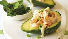 Classic avocado ritz #recipe. A simple and delicious starter.