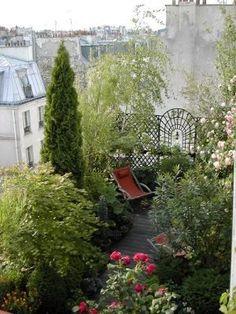 Balcony in Paris ~