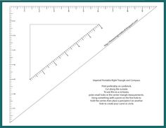 The Sewing Notebook: Free Printable Patternmaking Tools
