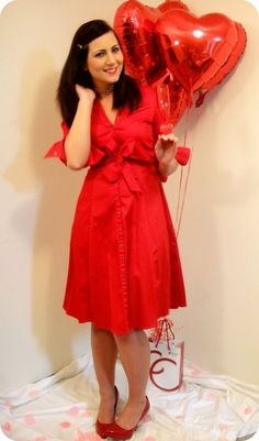 Valentine's Day Outfit Ideas: Monochromatic in All Red