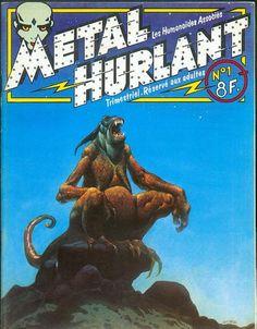 Metal Hurlant n'1 - Moebius