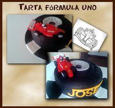 Tarta Formula 1.