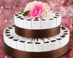 I Love Chocolate, Chocolate Brown, Wedding Cake Boxes, Chocolate Wedding Favors, Cake Kit, Diy Cake, Wedding Supplies, Friend Wedding, Truffles