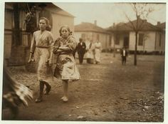 Child laborers at Avondale Mills. Lewis Hine, 1910