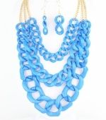 Multi Layered Necklace Set from Bijoux Boutique