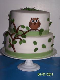 taart met uil