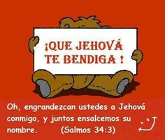 May Jehovah bless you all <3