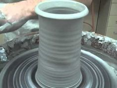 This is an excellent video covering centering, pulling the pot upward, properly compressing the clay as well as how to properly remove the pot from the wheel. Very easy to listen to and follow. - Senjen