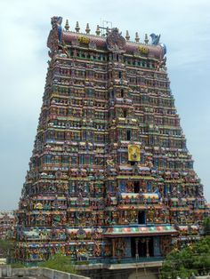 Meenakshi Temple: Madurai in Tamil Nadu, India.