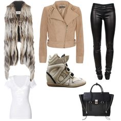 love this outfit and LOVE those shoes i love the high heel shoes of these sneakers omg to DIE for!