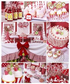 Love love LOVE this Candy Cane party theme!