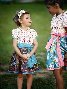 Jane Retro Wrap Dress Sewing PDF Pattern -
