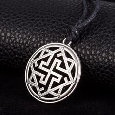 Slavic Kolovrat Pendant Necklaces Molvinets in Yarilo Symbol Valkyrie Amulet Talisman Viking Male And Female Ethnic Necklace-in Pendant Necklaces from Jewelry & Accessories on Aliexpress.com | Alibaba Group