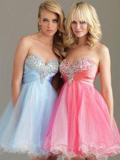 Fotos de vestidos cortos para quinceañeras