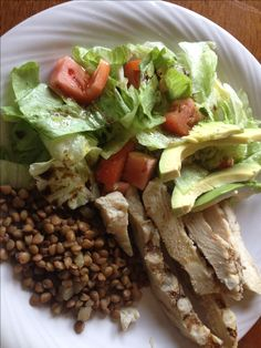 Slow Carb Diet - Chicken Salad- Interesting Daily Slow Carb Journal