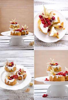 LEMON POUND CAKE AI CRANBERRIES