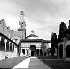 Renaissance Humanism expressed in architecture. The Pazzi Chapel, Florence, by Filippo Brunelleschi