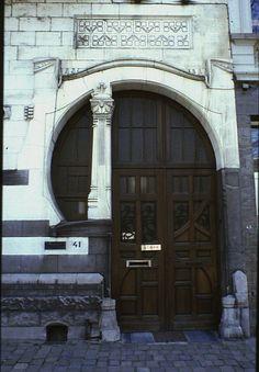 Art Nouveau Door.
