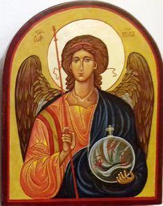Mihály arkangyal, a  mennyei seregek parancsnoka Görögország XV. század