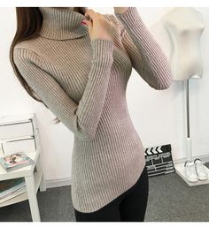 Costbuys Women Winter Bodice Long Sleeve Sweater For Womens Pullover Long Sleeve Sweaters Night Outfits, Fall Outfits, Black Jeans Outfit, Yellow Fashion, Winter Wardrobe, Long Sleeve Sweater, Pullover Sweaters, Sweaters For Women, Turtle Neck