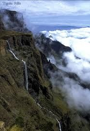 tugela falls, s. africa-2nd highest falls in the world