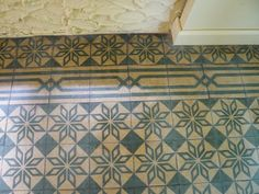 """""""Cuban tile"""" which is apparently not ceramic tile at all."""