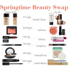 """Springtime Beauty Update"" 