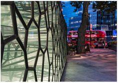 Old Street London. Old Street London, Dutch Artists, Time Art, Public Art, Art Projects, Windows, Mirror, Glass, Wall