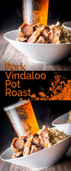 My pot roast Pork Vindaloo is a take on the classic Portuguese influenced Indian dish from Goa, lets just say this dish has traveled a little ?